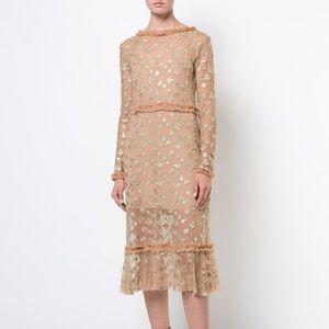 For Love and Lemon Golden garden Butterfly dress